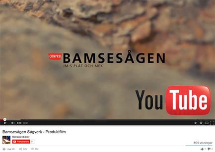 Bamsesågen Sågverk – Produktfilm